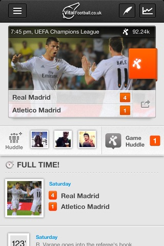 Vital Football screenshot 3