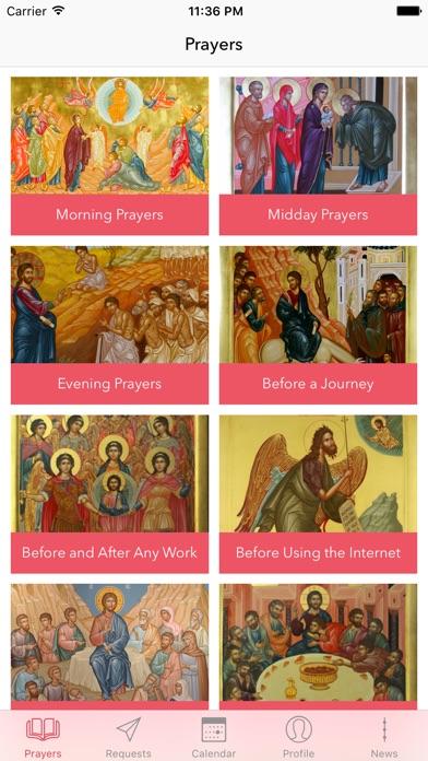 Orthodox PrayerBookScreenshot of 1