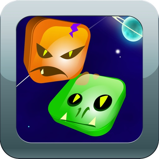 Bust A Alien HD 2014 Free - A Really Awesome Match 3 Mania Game Designed To Crush The Aliens! iOS App