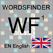 Words Finder Wordfeud/SOWPODS - find the best English words for Wordfeud, crossword and cryptogram