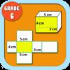 Kids Math-Volume&Surface Area Worksheets(Grade 6)