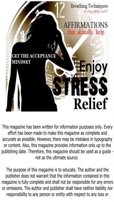 Enjoy Stress Relief screenshot1