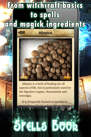 Spells and Witchcraft Handbook screenshot 4