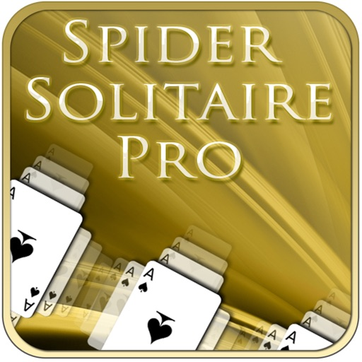 Spider Solitaire Pro for iPad iOS App