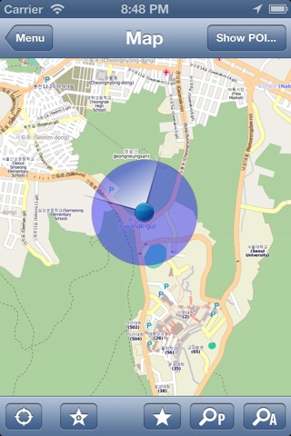 Seoul, Korea Offline Map - PLACE STARS screenshot 3