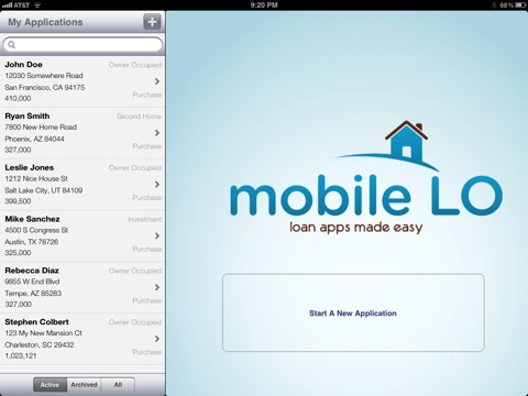 mobileLO screenshot 1