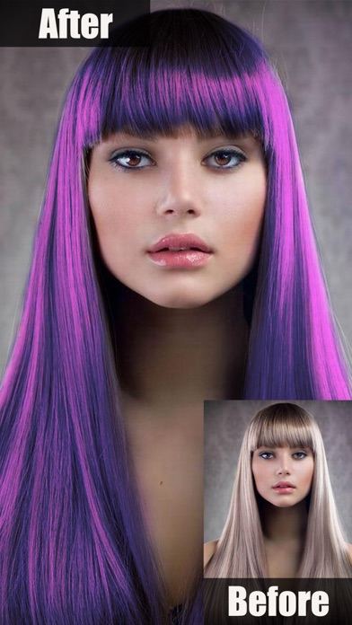 Hair Color Changer Style On The App Store - Hair colour editor download