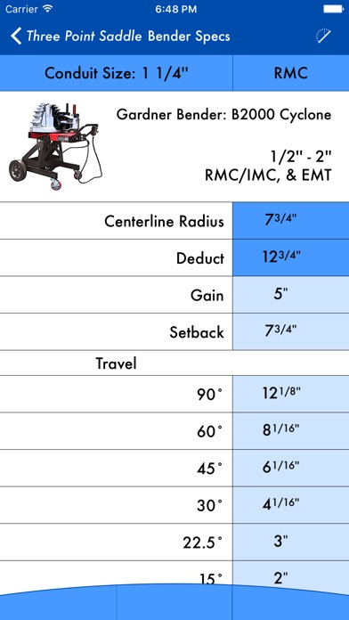 download QuickBend: Conduit Bending Calculator apps 1