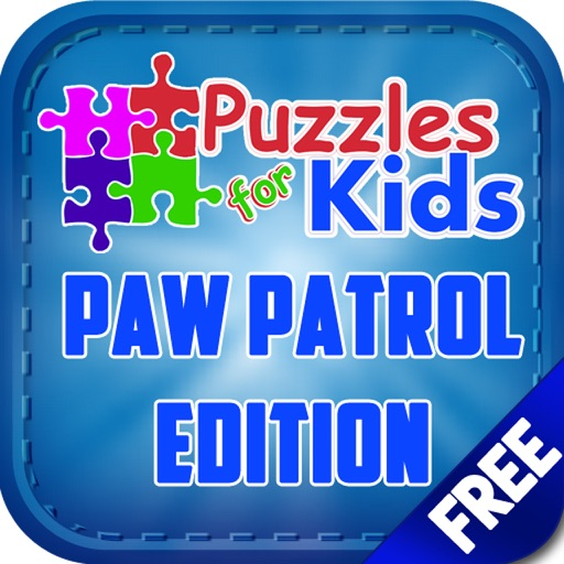 Jigsaw Puzzles for Kids Paw Patrol Version iOS App