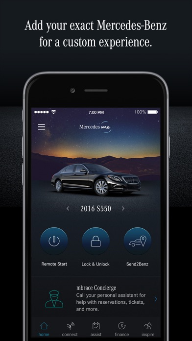 Mercedes Benz Mbrace App >> Mercedes me (USA) on the App Store