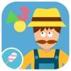 Math Tales - The Farm: Nursery rhymes and math games for kids math games