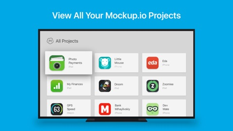 Mockup io – Mobile UI Prototyping and Presentation   App