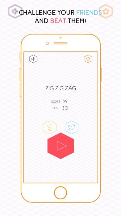 Zig Zig Zag Screenshot