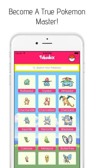Pokedex for Pokemon Go Screenshot