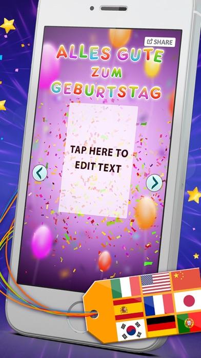 Birthday Cards Multilingual Free E Card Creator To Wish Happy B
