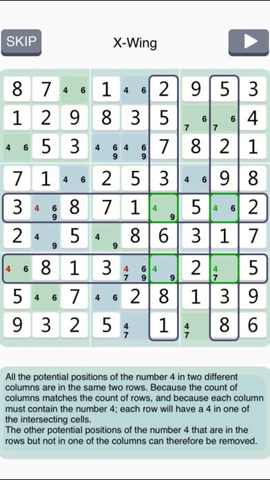 Sudoku Institute - classic puzzle game Screenshot
