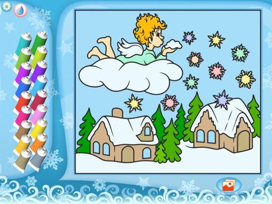 Раскрась по номерам – Рождество - Бесплатно на iPad
