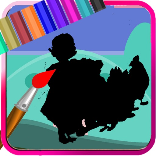 Draw Pages Game Little Bear Edition iOS App