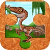 Dinosaur Jigsaw Puzzle Farm - Fun Animated Kids Jigsaw Puzzle with HD Cartoon Dinosaurs