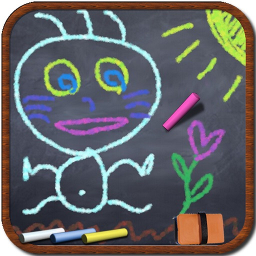 Real ChalkBoard for iPhone【粉笔黑板报】