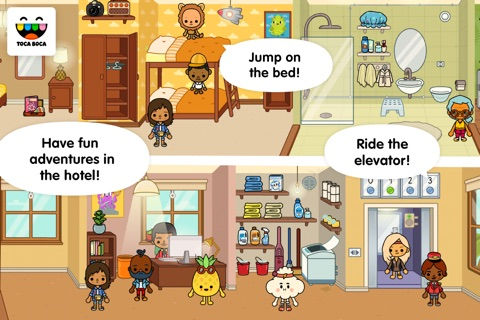 Toca Life: Vacation screenshot 2