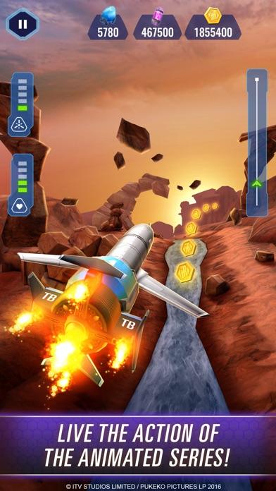 Thunderbirds Are Go: Team Rush Screenshot