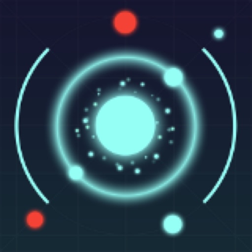 World driving color dots runner as the atom iOS App