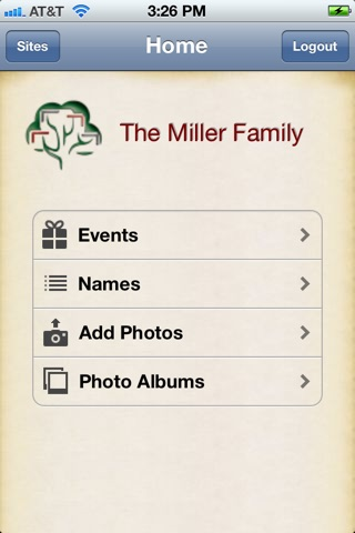 TribalPages - Family Tree Builder screenshot 1