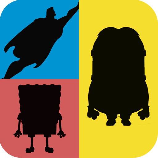 Shadow Quiz Game - Guess the Character iOS App