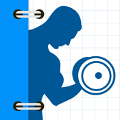 Fitness Buddy FREE : 400+ Exercise Workout Trainer and Workout Journal icon