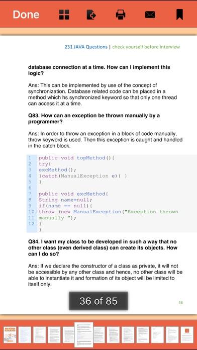 316 Java Interview Qu... screenshot1