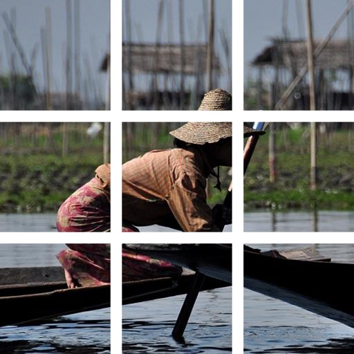 Puzzle Photo - Asia iOS App