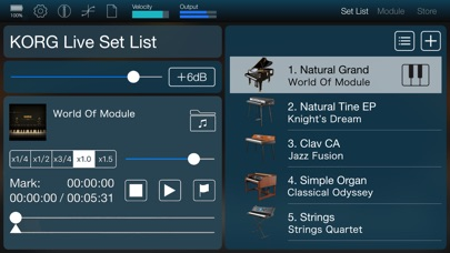 KORG Module screenshot1