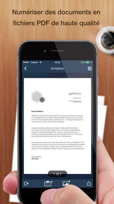 download Tiny Scanner+ - PDF scanner to scan document, receipt & fax apps 4