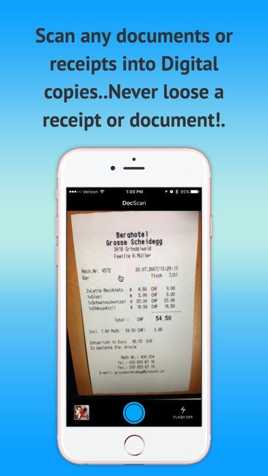 Mobile Scanner OCR - PDF gratuitCapture d'écran de 3