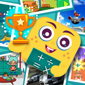 Math Credit - Motivate With Fun Apps | Cool Math Game for Kids in Kindergarten & First to 6th Grade Compatible With Montessori Method