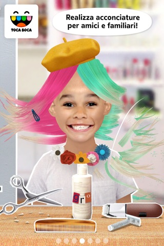 Toca Hair Salon Me screenshot 1