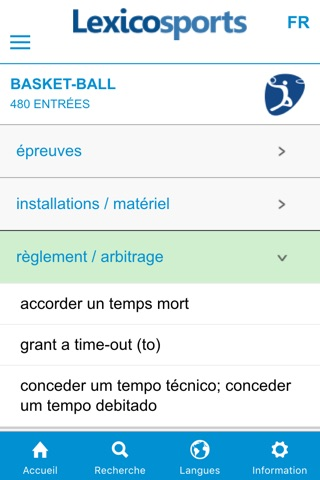 Lexicosports screenshot 3