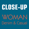 Close-Up Woman Denim ...
