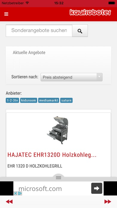 Kaufroboter - Sonderangebote screenshot