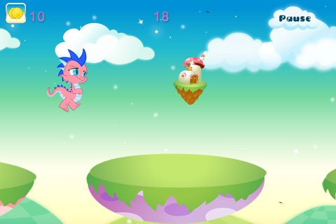 Baby Dragon Run Free screenshot 3