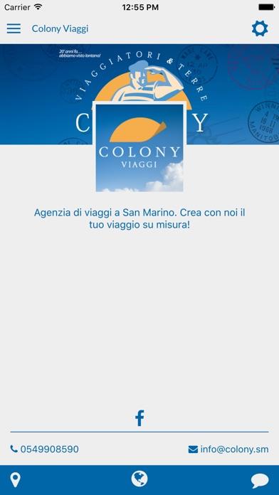Screenshot of Colony Viaggi1