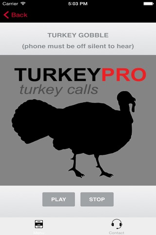REAL Turkey Calls for Turkey Callin BLUETOOTH COMPATIBLE screenshot 2