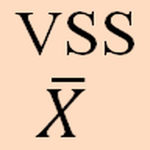 Xbar control chart with VSS