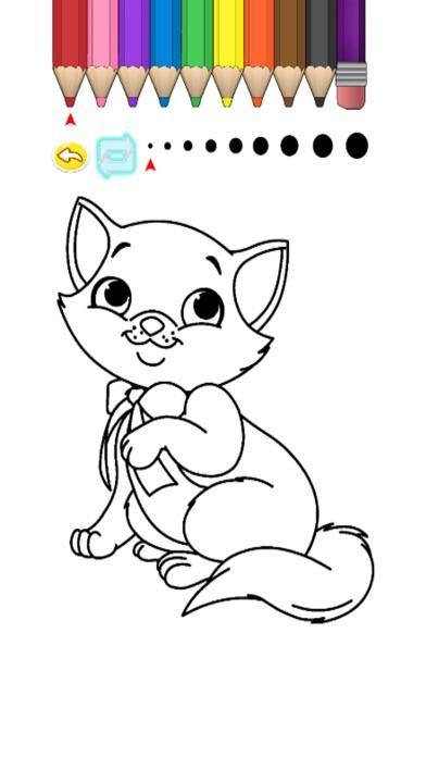 Screenshot of Kids Coloring Book - Cute Cartoon Matake2
