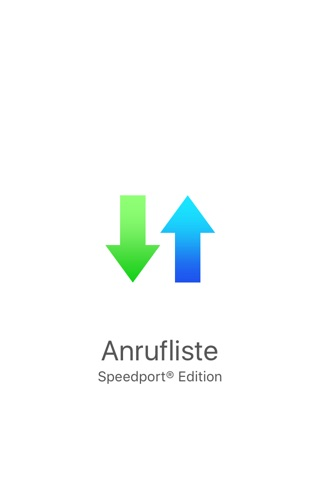 Speedport® Anrufliste screenshot 1