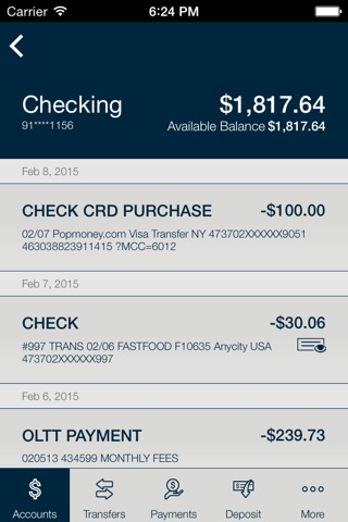 FNBC Mobile Banking screenshot 4