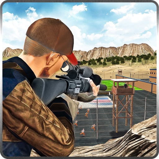 Prison Escape Sniper Mission 3D iOS App
