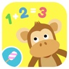 Math Tales - The Jungle: Nursery rhymes and math games for kids math games
