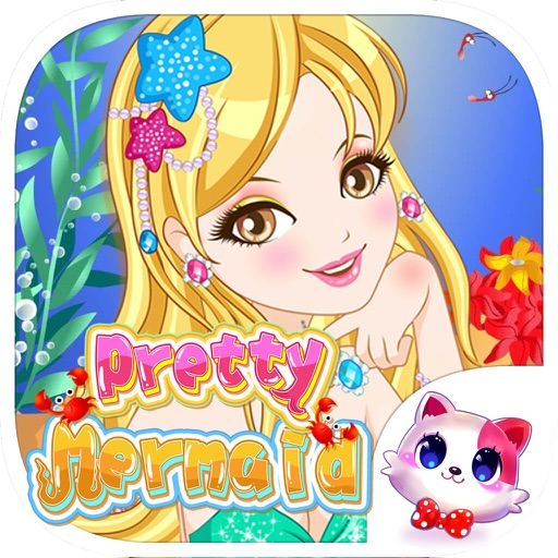 Pretty Mermaid Girls Makeup – Delicate Fashion Salon Game for Girls and Kids iOS App